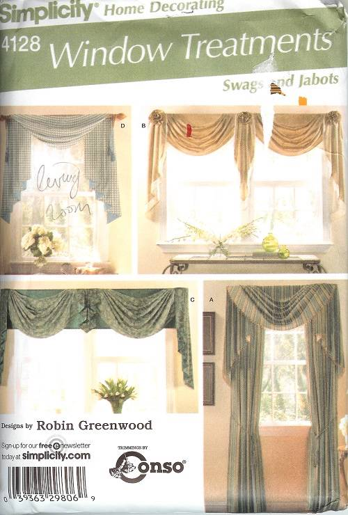 Simplicity Window Treatment Covering Curtains Drapes Home Decor