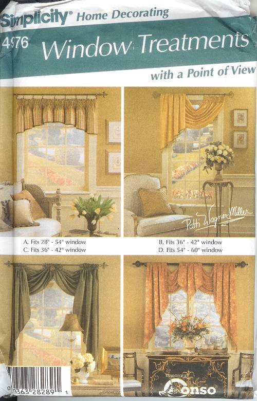 Simplicity Home Decor Patterns