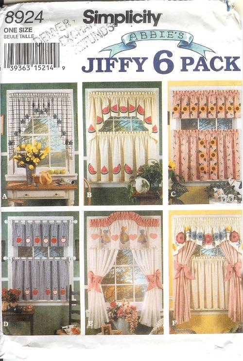 Simplicity Window Treatment Covering Curtains Drapes Home Decor ...