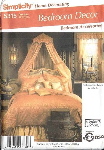 Simplicity Bedroom Bedding Bed Home Decor Accessories Sewing