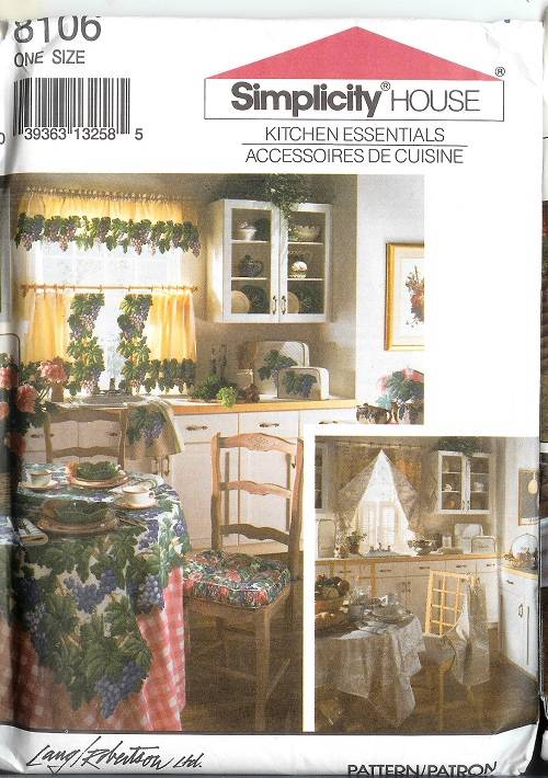 Oop Simplicity Home Amp Garden Rooms Sewing Pattern
