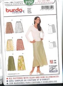 OOP Burda Sewing Pattern Womens Misses Sizes with Plus ...