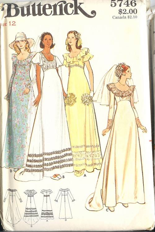 OOP Butterick Sewing Pattern Misses Evening Gown Prom Party ...