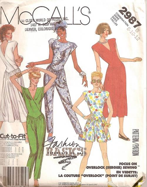 McCalls Sewing Pattern Jumpsuit Misses Size You Pick eBay