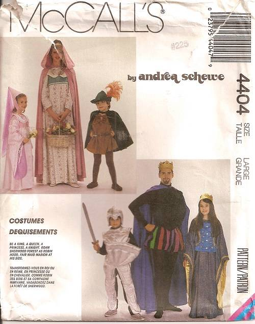 Russian Mail Adult costume halloween pattern sewing specific