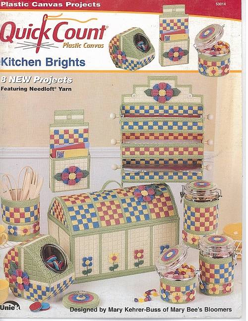 Quick Count Plastic Canvas Pattern Book Project Leaflet Needlecraft Delectable Plastic Canvas Pattern Books