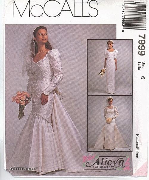 Misses Formal Prom Bridal Evening Gown Cocktail Dress OOP McCalls ...