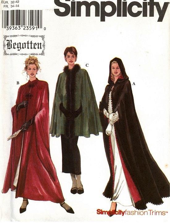 Renaissance Costume Historical OOP Simplicity Sewing Pattern Ladies ...
