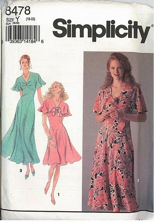 Simplicity Sewing Pattern Misses And Womens Dress Pattern Plus Size