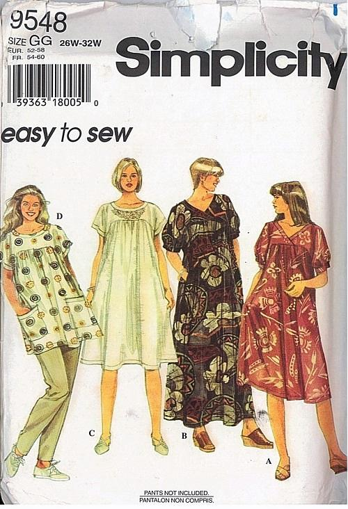 Simplicity Sewing Pattern Misses And Womens Dress Pattern Plus Size New Plus Size Costume Patterns