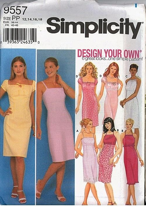Simplicity Sewing Pattern Misses and Womens Dress Pattern Plus Size Interesting Simplicity Patterns Dresses