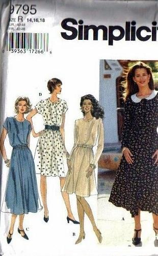 Simplicity Sewing Pattern Misses and Womens Dress Pattern ...