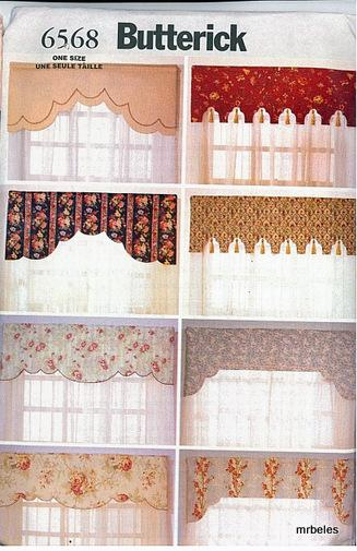 Oop Butterick Sewing Pattern Window Treatment Home Dcor Home Decorators Catalog Best Ideas of Home Decor and Design [homedecoratorscatalog.us]