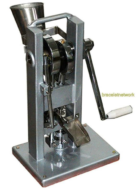 how to make a pill press machine