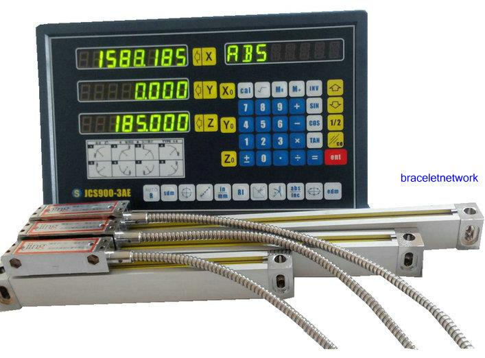 3 axis digital readout for milling machine