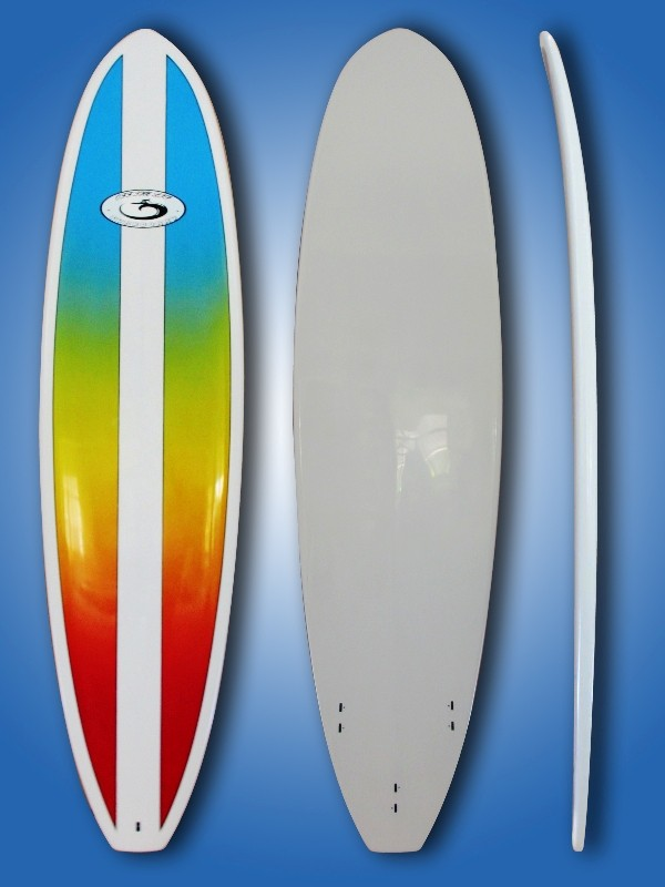 New-86-Mini-Mal-Epoxy-Surfboard-Free-Leg-Rope