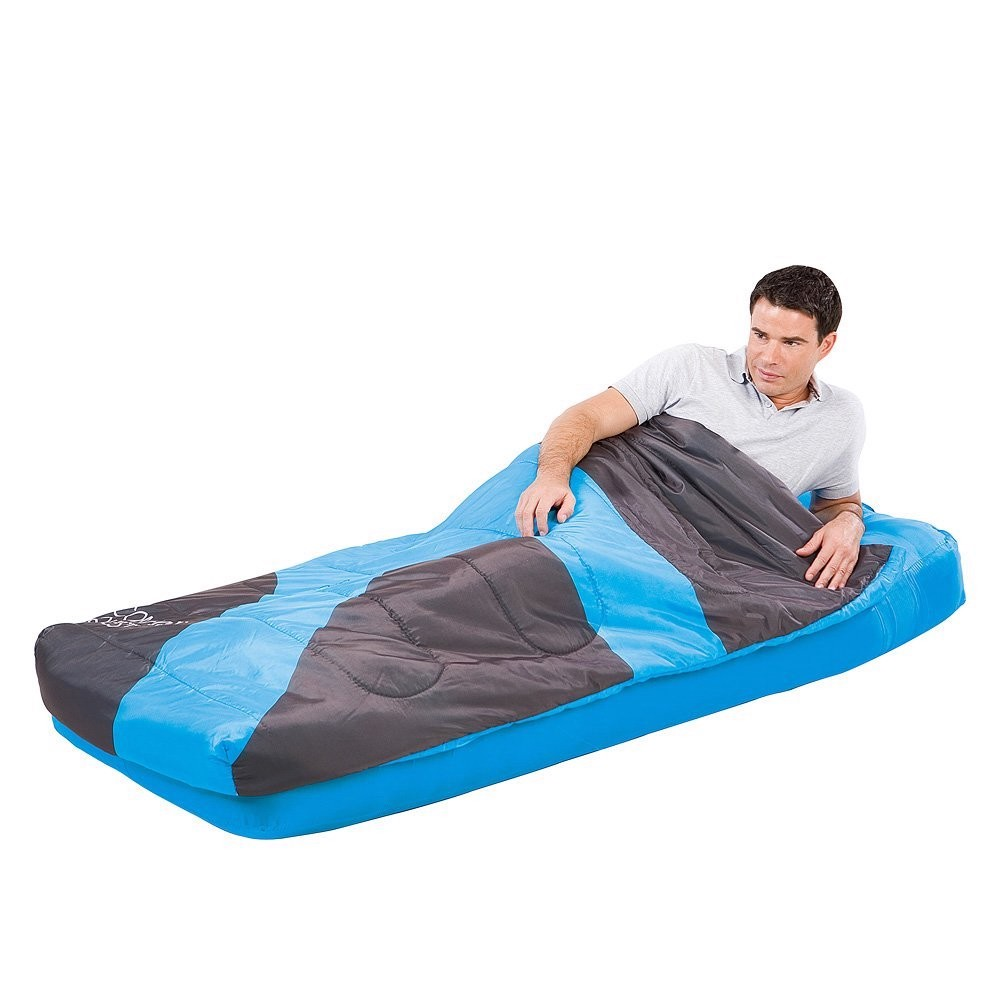Bestway-Comfort-Quest-Air-Bed-Matttres-Sleeping-Bag-185x76x22cm-67434-Blue