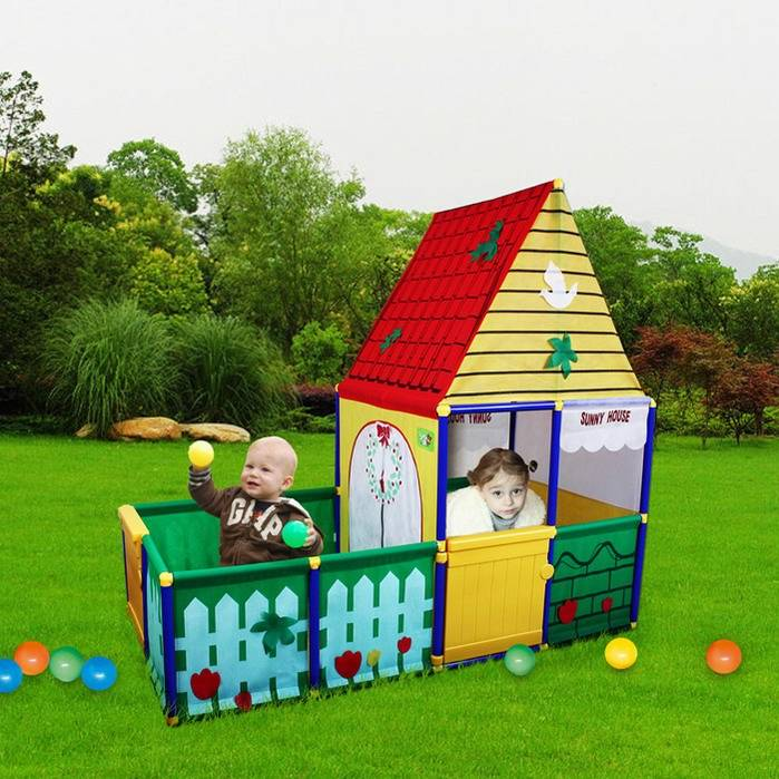 Indoor-Outdoor-Cubby-House-Tent-Play-House-Backyard-6009