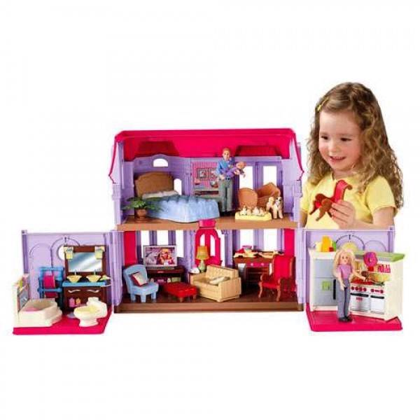 NEW-Fisher-Price-Pretend-Toy-Doll-House-Loving-Family-Family-Manor
