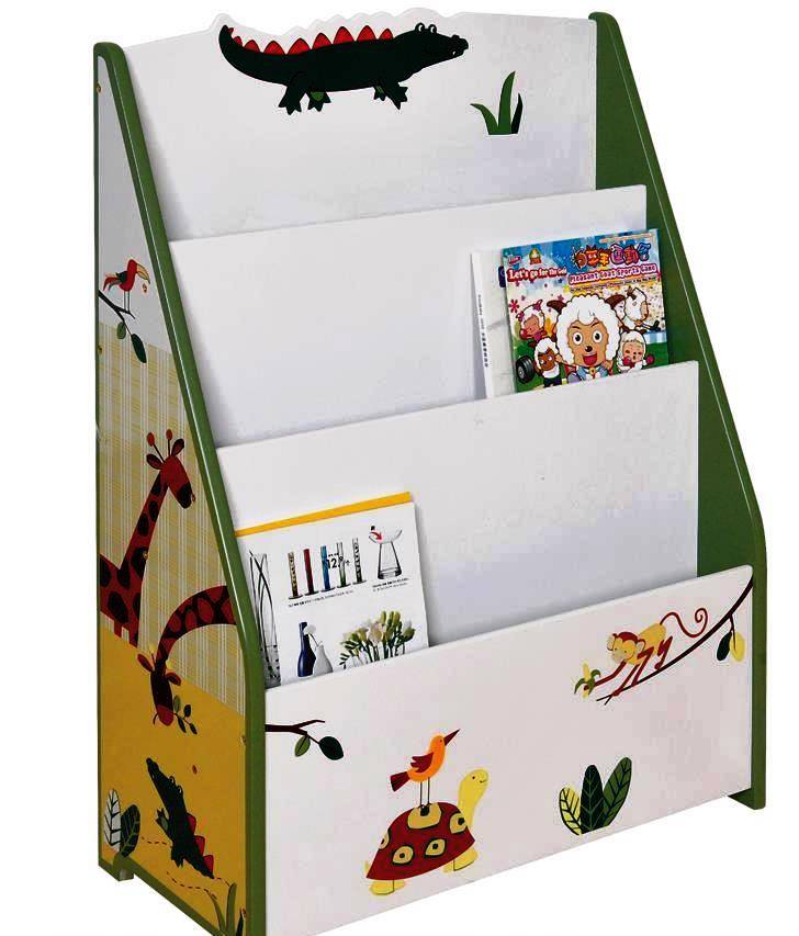New-Kid-Book-Magazine-Storage-Book-Shelf-Bookcase-Display-Stand-SL-018-Boy