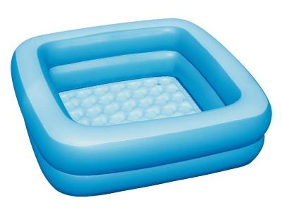 new bestway inflatable portable baby bath tub bathtub 86 86 25cm 51116 blue ebay. Black Bedroom Furniture Sets. Home Design Ideas