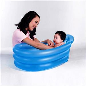 new bestway inflatable portable baby bath tub bathtub 79 51 33cm 51113 blue ebay. Black Bedroom Furniture Sets. Home Design Ideas