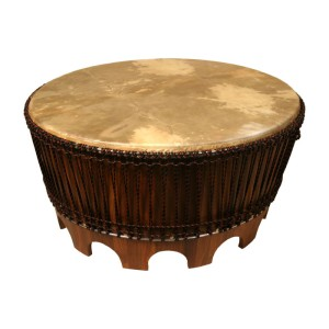 Details About AWESOME 38 AFRICAN DRUM COFFEE TABLE AFRICA DECOR