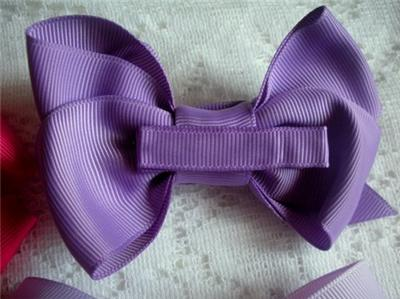 Wholesale Fashion Grosgrain Ribbon on Wholesale Dozen Boutique 4  Hair Bows Lot 12 Assorted