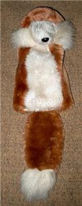 Red Fox Furry Golf Club Cover