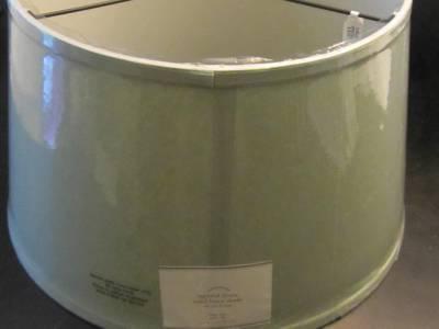 porcelain blue linen tapered drum floor table lamp shade large ebay. Black Bedroom Furniture Sets. Home Design Ideas