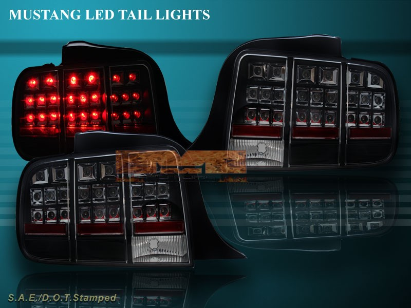 2005 2006 2007 ford mustang led rear tail light rear lamps. Black Bedroom Furniture Sets. Home Design Ideas