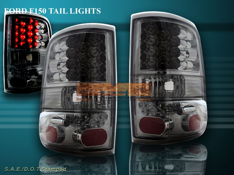 about 2004 2005 2006 2007 2008 ford f 150 f150 led tail lights smoke. Black Bedroom Furniture Sets. Home Design Ideas