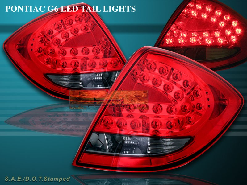 G6 Led Lights : Pontiac g dr l e d tail lights led