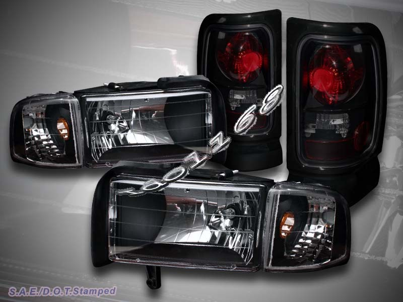 black headlights corner lights dark smoke altezza tail lights. Black Bedroom Furniture Sets. Home Design Ideas