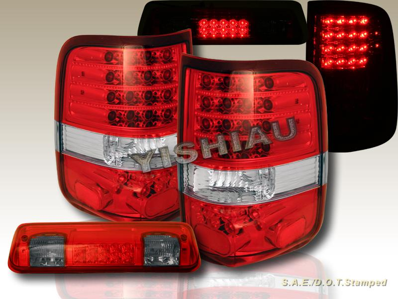 sell 2004 2005 2006 2007 2008 ford f150 tail lights red led red smoke. Black Bedroom Furniture Sets. Home Design Ideas