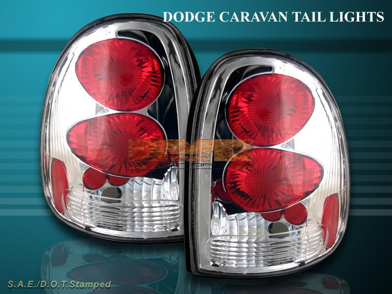 96 00 dodge caravan durango tail lights chrome g2 99 98 ebay. Black Bedroom Furniture Sets. Home Design Ideas
