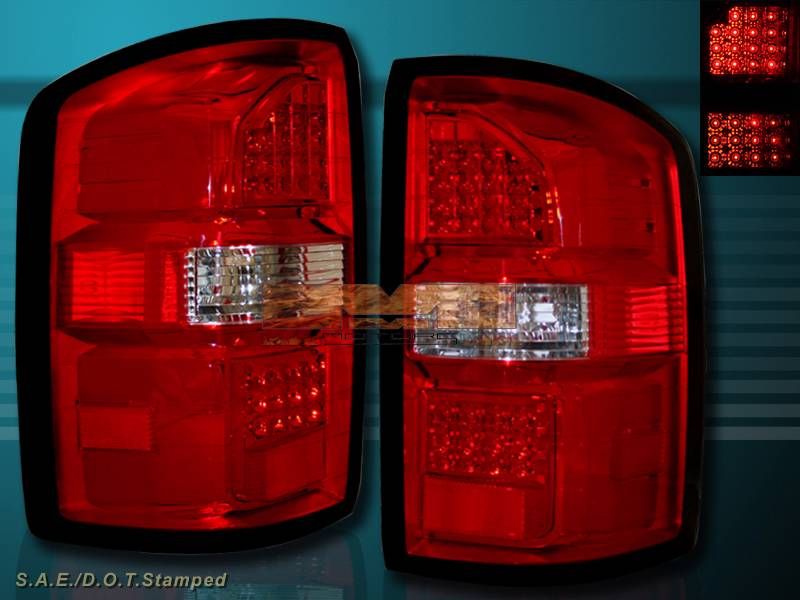 2014 2015 gmc sierra 1500 sierra 2500 hd led tail lights. Black Bedroom Furniture Sets. Home Design Ideas