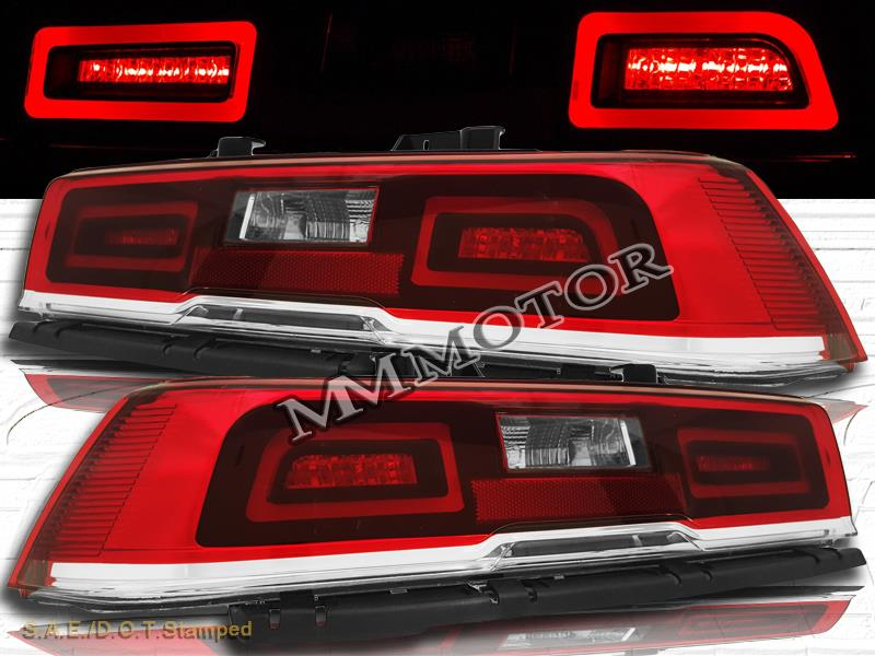 2014 2015 chevrolet camaro pair l e d tail lights red. Cars Review. Best American Auto & Cars Review
