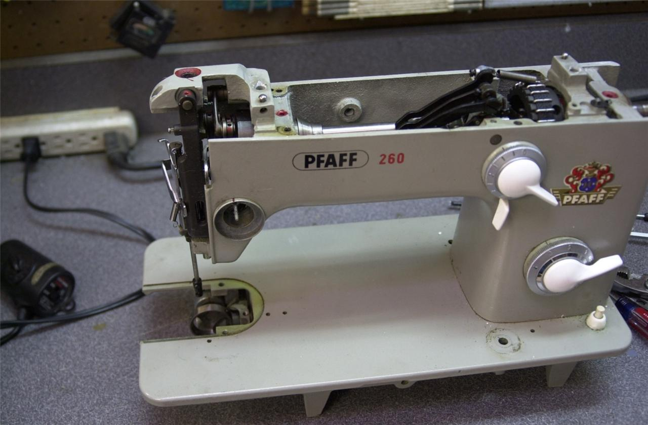 Exc Pfaff 260 Industrial Strength Sewing Machine Serviced
