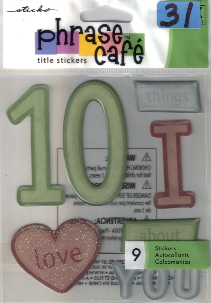 ... -CAFE-Assorted-STICKERS-Choice-Scrapbooking-LABEL-LINGO-Family-more