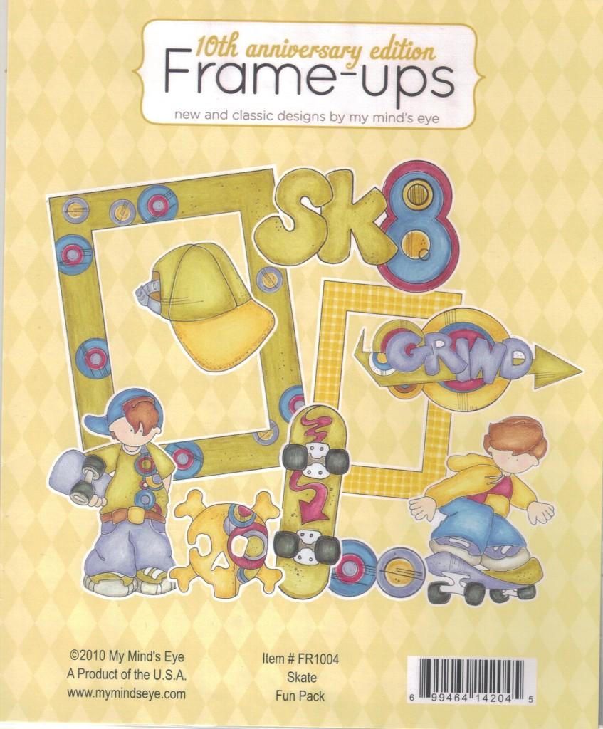 Eyeglass Frame Ups : MME My Minds Eye Assorted FRAME UPS Scrapbooking Kits ...