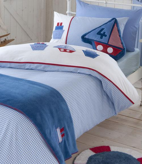 Nautical Cot Bed Duvet Set