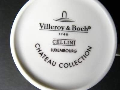 "Villeroy And Boch Cellini. VILLEROY & BOCH ""CELLINI"""