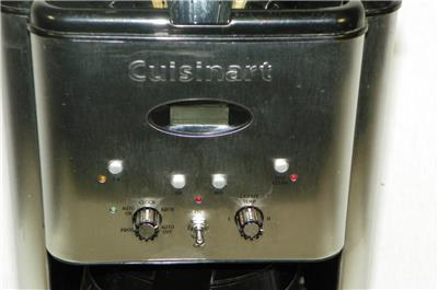 Cuisinart Coffee Maker Model Dcc 1200 : Cuisinart DCC-1200 Brew Central 12-Cup Programmable Coffeemaker Stainless Steel eBay