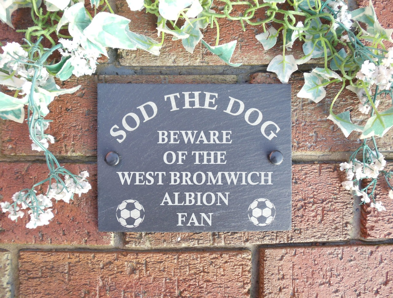 Sod-The-Dog-Football-Fan-Slate-Wall-Door-Sign-Plaque-Ideal-Gifts-As-Of-2012