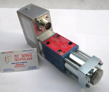 Nib moog d633 518b direct drive servo valve 2 yr warranty for Direct drive servo motor