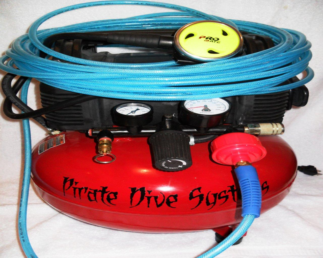 Pirate dive systems tankless hookah diving system - Electric dive hookah ...