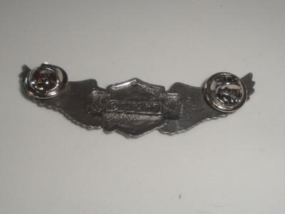 Harley Davidson Eagle Wings Motorcycle HD Logo Solid Foundry Metal Pin
