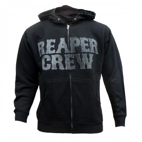 sons of anarchy reaper crew hoodie sweatshirt new ebay. Black Bedroom Furniture Sets. Home Design Ideas