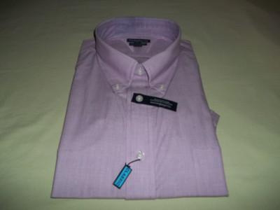 new croft&barrow mens short sleeve dress shirt size M 15 1/2   16